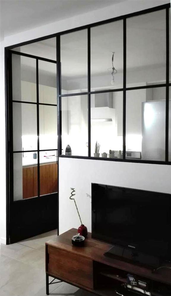 Parete vetrata casa PP  ferro&vetroLAB
